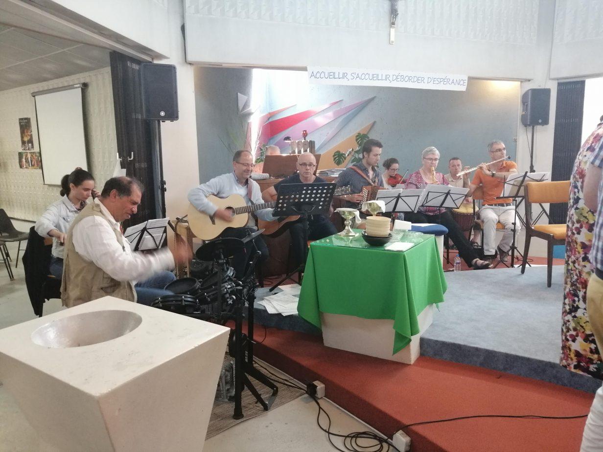 Musiciens Paroisse Sainte Elisabeth Rennes